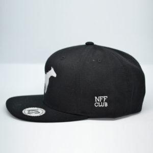 NFF Club Bremen Snapback Seitenansicht auf Kappenschmiede.de