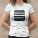 bum. bum. tschak. Rectangles T-Shirt Fraue